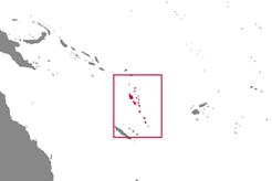 Vanuatu Country Map