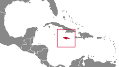 Jamaica Country Map
