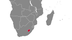 Lesotho Country Map