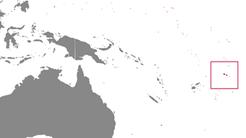 Samoa Country Map