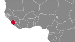 Sierra Leone Country Map