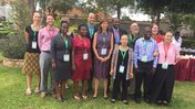 Peace Corps Volunteers and Staff at the conference.JPG