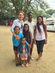 Renee Sinden host family