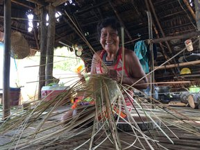 Weaving Baskets to Sell