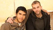 Reda Dihimine and Peace Corps Volunteer Samir.