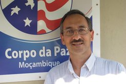 Sanjay Mathur, Country Director for Peace Corps Mozambique