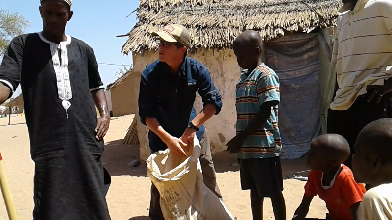 Brian in Village, Senegal