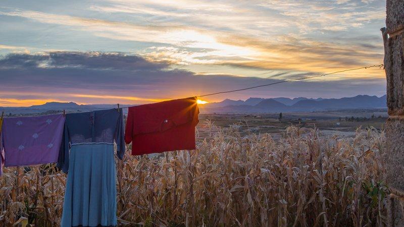 Lesotho sunrise