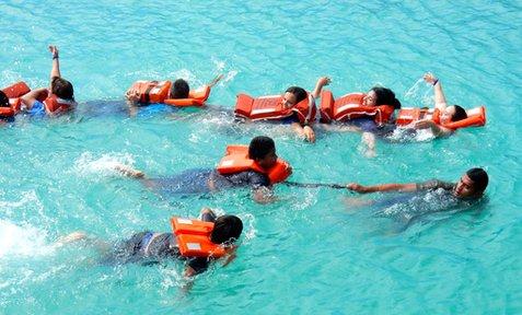 Swim safety training