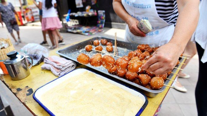 糖油果子  (tángyóu guŏzi)