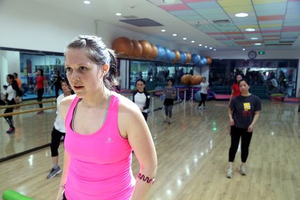 The gym became the place I developed my language skills most. After over a year of committing to the gym each day, they allowed me to volunteer teach Zumba every Friday for the rest of my service.