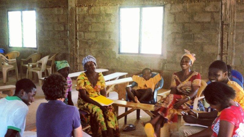 "Years after finishing Peace Corps, Travis returned to Ghana to create ""Nakom"""