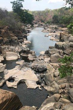 Bua River in Malawi