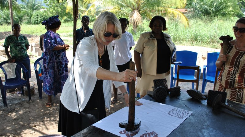 Acting Director puts her stamp on Togolese entrepreneurship