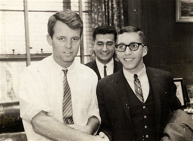 Meeting then-Attorney General Robert F. Kennedy