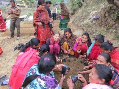 Peace Corps Nepal Volunteer Lisa Bauer