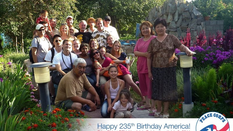 Kyrgyzstan Fourth of July