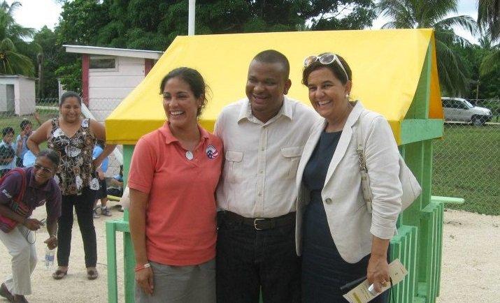 Natalie Macias served as a health volunteer in Belize.
