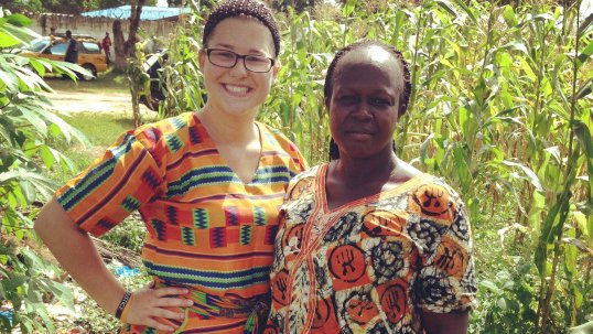 Rebecca Monnier Liberia