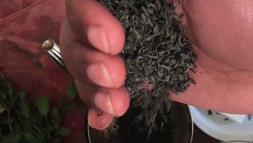 Add the gunpowder tea leaves
