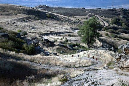 Krali Marko 65-kilometer Ultra in Prilep, Macedonia