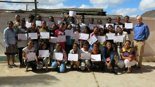 Camp GLOW participants, Madagascar