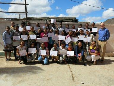Camp GLOW participants, Madagascar