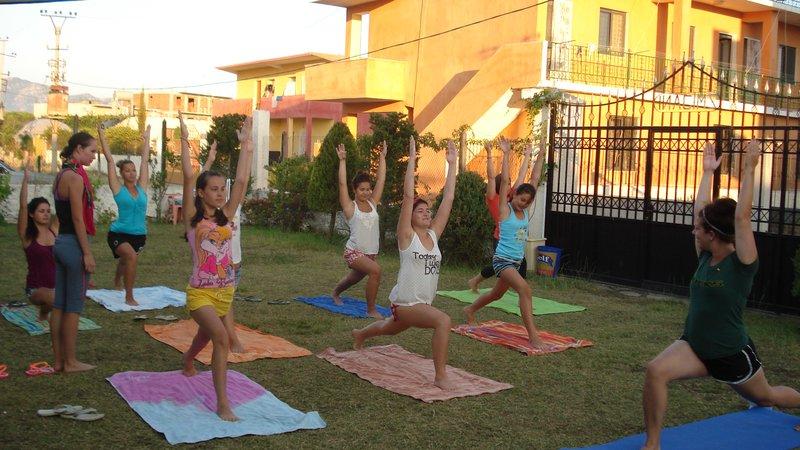 Morning yoga Albania