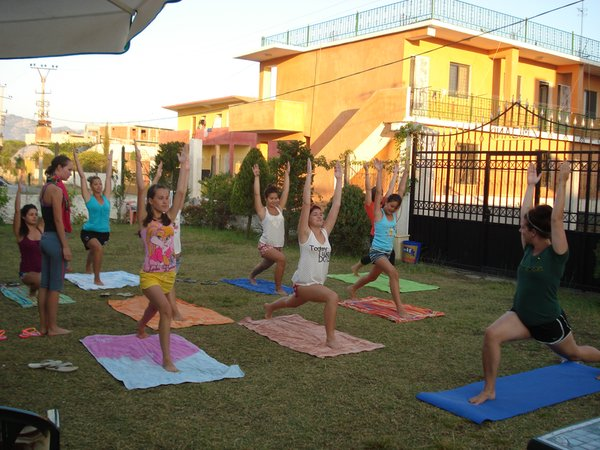 Morning yoga Albania