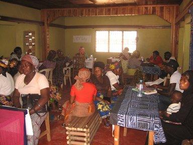 Widows group meeting