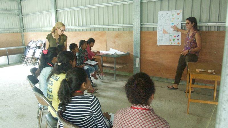 Theresa Becchi, Timor-Leste