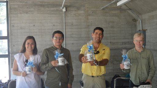 Brenda Suarez Castillo, Aminadab Martinez Franco, Eduardo Specia, and Peace Corps Response Volunteer Carolyn Smith participat