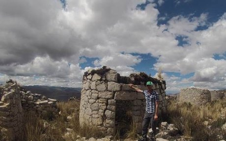 Jack in the Yanamarca Valley in Peru (2013)