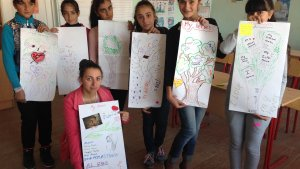 Girls' empowerment workshop