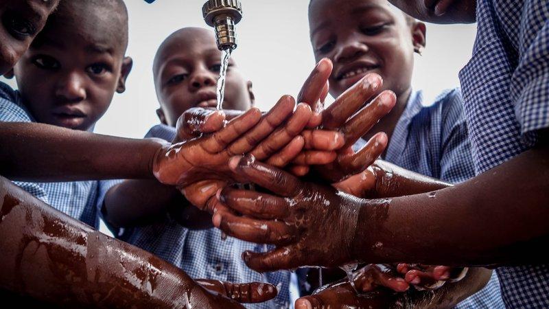 Hand washing, Northern Benin