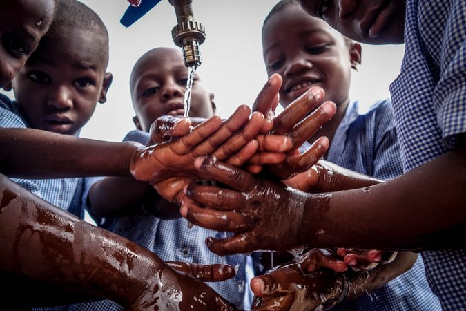 Hand washing, Northern Benin