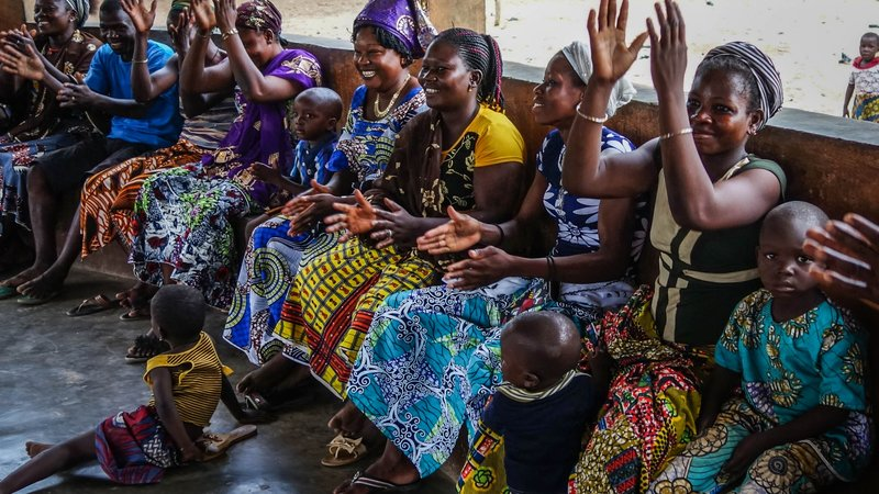 Parent Meeting, Northern Benin