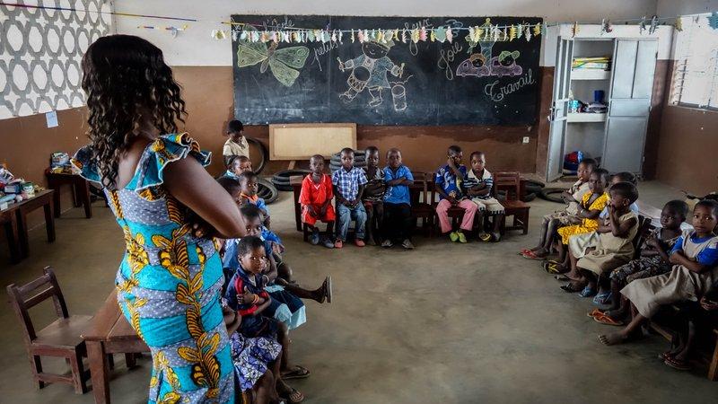 Nursery School, Northern Benin 2