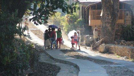 Road Malangsa (Vallehermso)