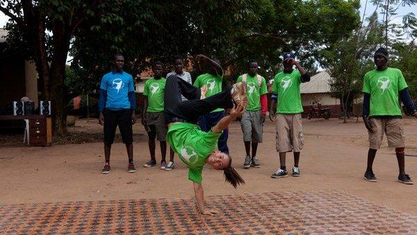 Breakdancing to empower girls