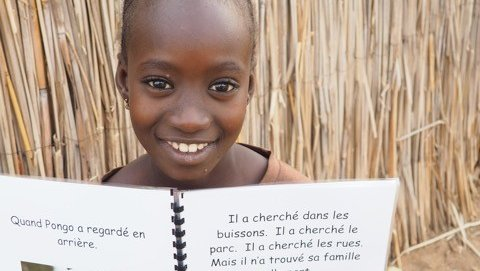 Students in Ohio wrote books for students in Senegal
