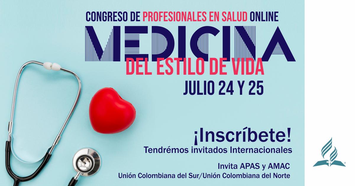 Congreso de profesionales en salud online