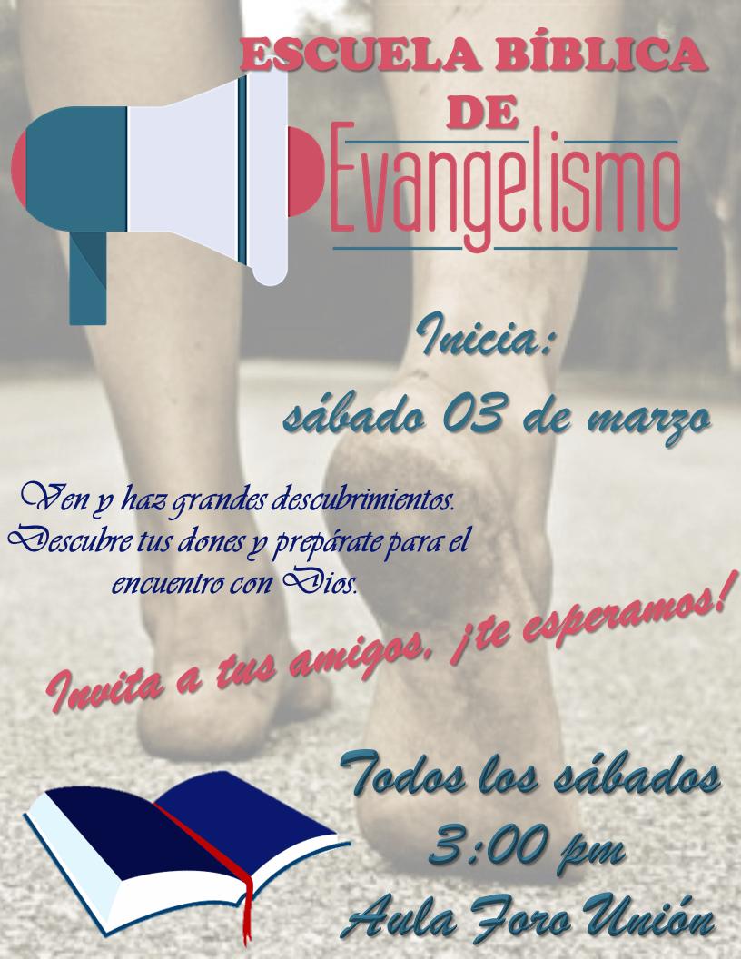 Escuela de Evangelismo