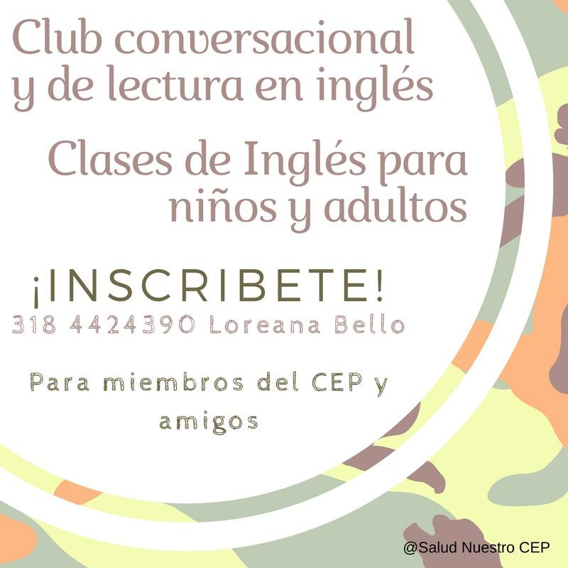 Club conversacional y de lectura de inglés