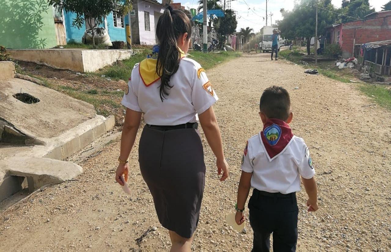 Niños y jóvenes fundaron clubes en un barrio marginado de Cartagena