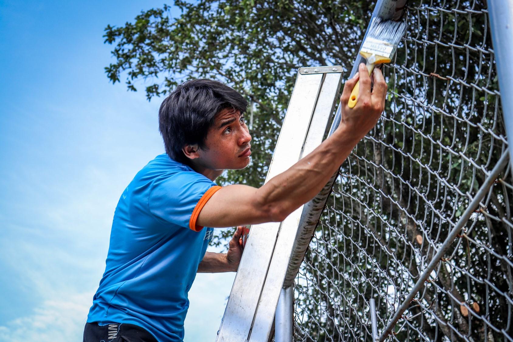 Voluntarios del norte de Colombia reconstruyeron, edificaron y compartieron mensajes de esperanza durante la 6ta edición de Misión Transforma