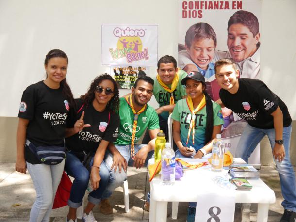 Universitarios se movilizan para testificar en el PCM Weekend 2017