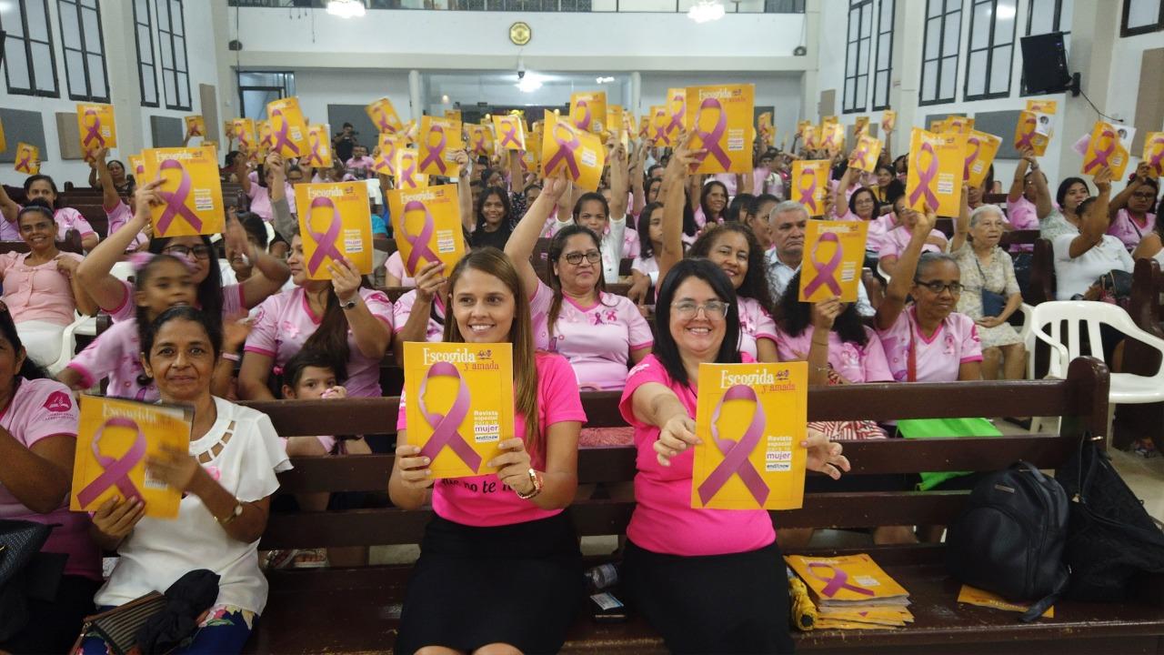 Asoatlántico participa de la celebración del Día Internacional de Prevención contra el cáncer de mama, con diferentes actividades