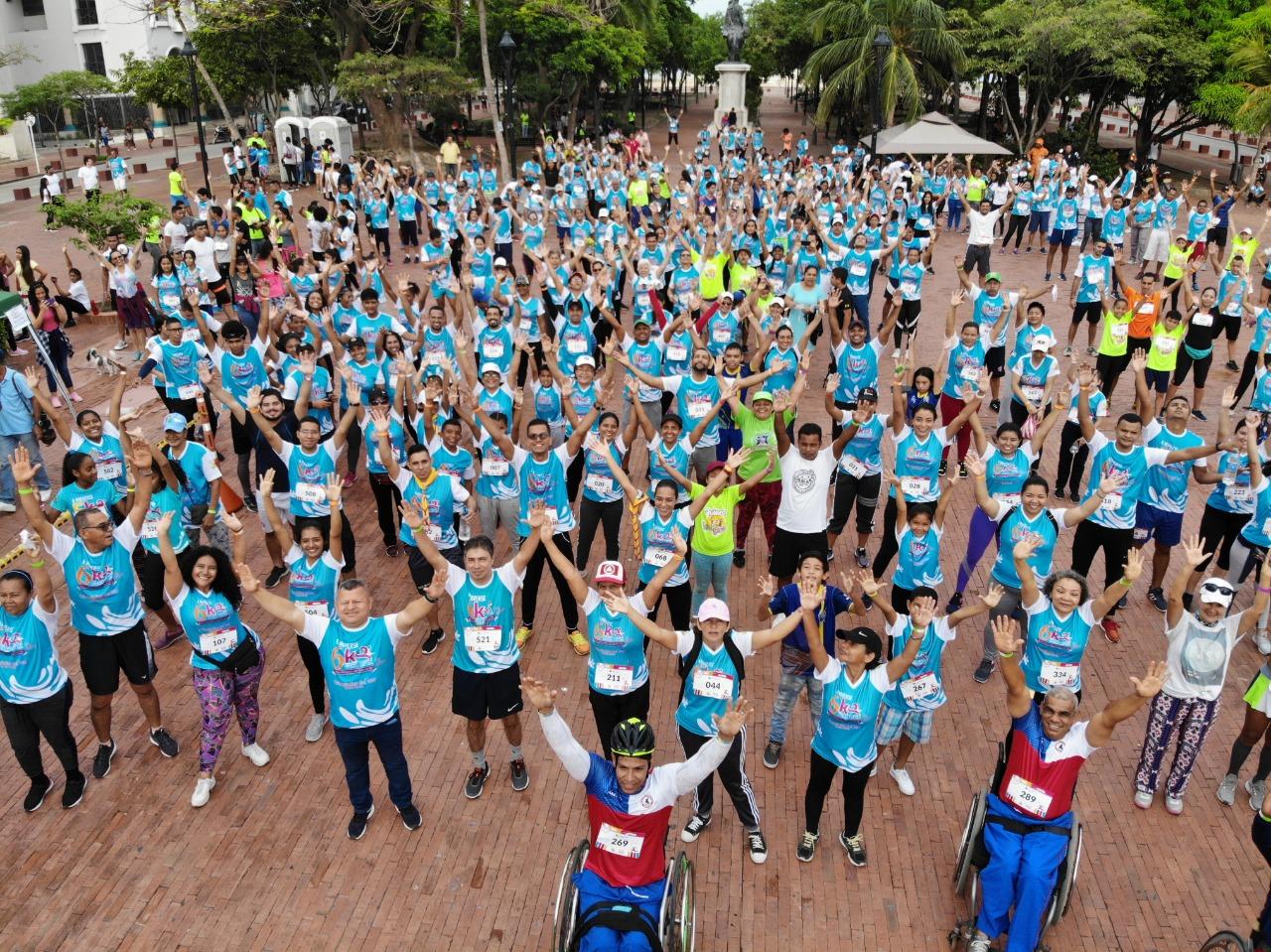 Más de 400 corredores participaron de A moverse para Vivir 6K Olimpiadas del Mar en Santa Marta