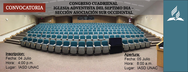 Convocatoria Congreso Cuadrienal